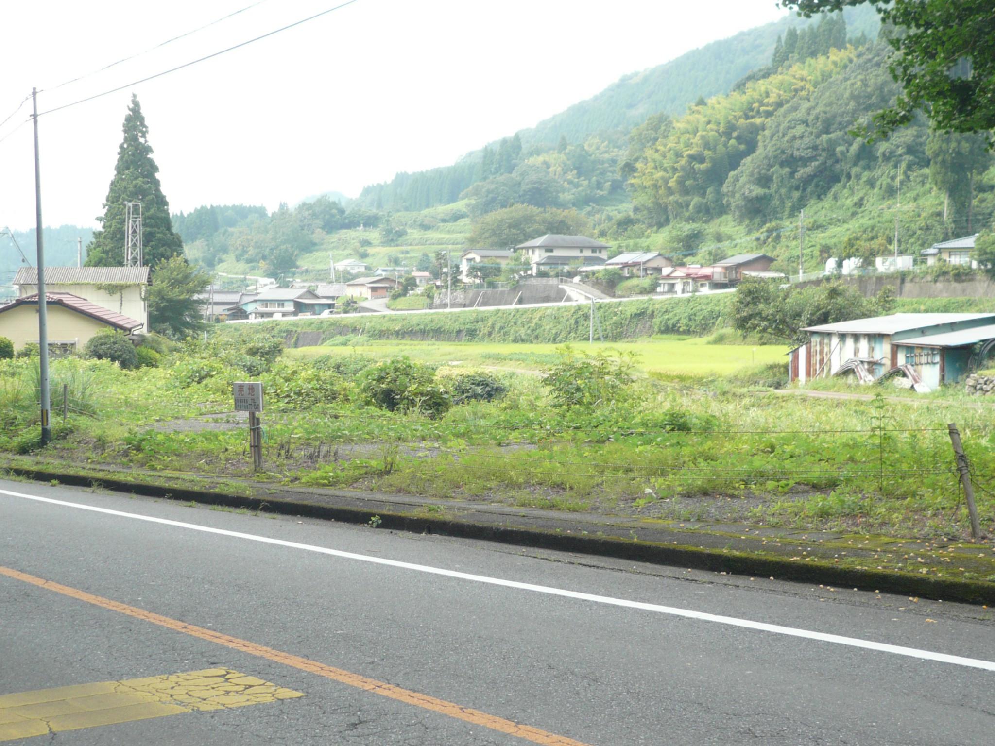国道325号線沿い上野土地